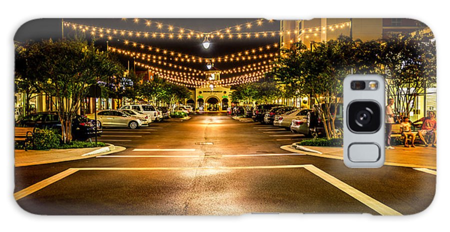 The Woodlands Texas Galaxy S8 Case featuring the photograph Market Street by Richard Irvin Houghton
