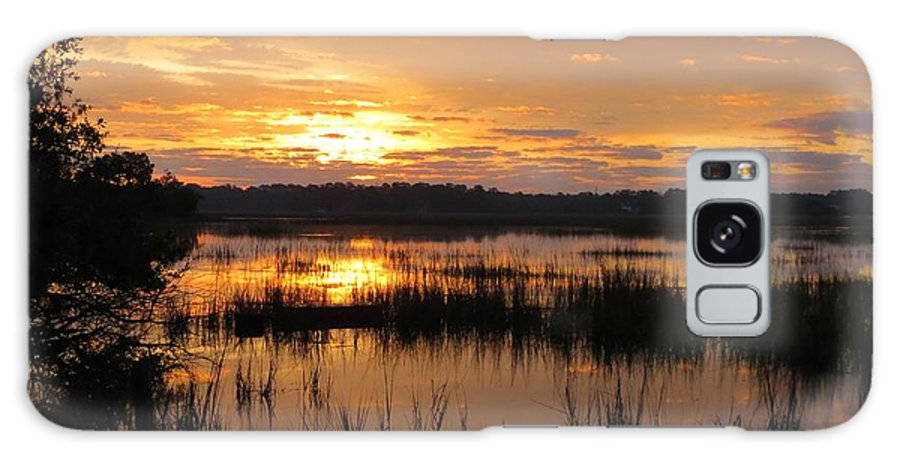 Landscape Galaxy S8 Case featuring the photograph Marsh Sunrise 2 by Todd Smith