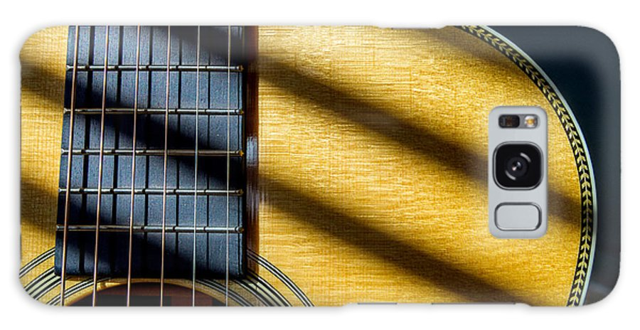 Acoustic Galaxy S8 Case featuring the photograph Martin Om-28v by Wolfgang Hauerken