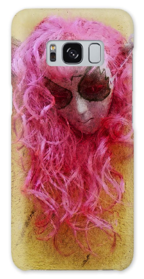 Mask Galaxy S8 Case featuring the photograph Mask Water Color 1 by David Lange