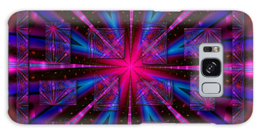 Fractal Art Galaxy S8 Case featuring the digital art Mathematical Oddity by Mario Carini