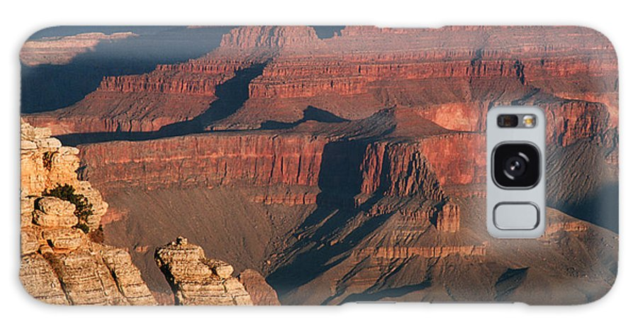 Grand Canyon Galaxy S8 Case featuring the photograph Mather Point At Sunrise On The Grand Canyon by Greg Matchick