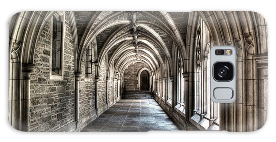 Mathey College Galaxy S8 Case featuring the photograph Mathey College Hall by Louise Reeves