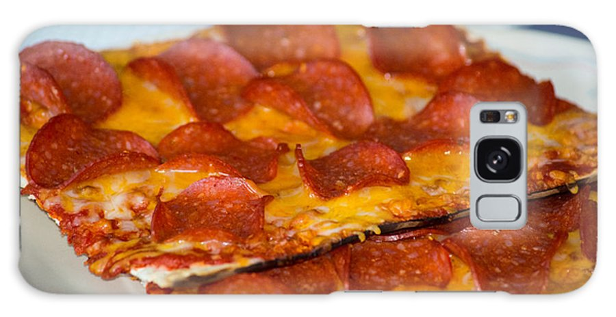 Pizza Galaxy S8 Case featuring the photograph Matza Pizza by Tikvah's Hope