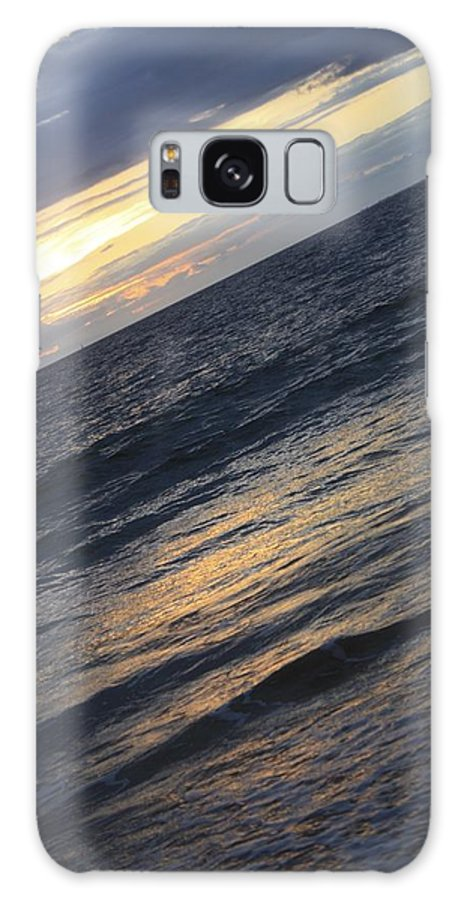 Maui Galaxy S8 Case featuring the photograph Maui Beach At Sunset by Pamela Smith