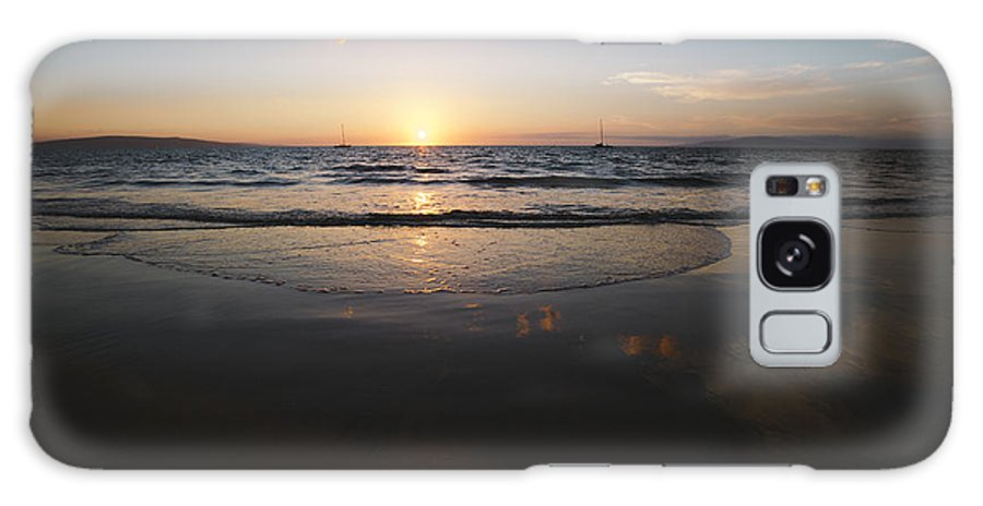 Maui Galaxy S8 Case featuring the photograph Maui Sunset by DeAnn Bonine