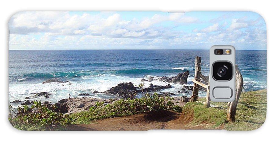 Maui Galaxy S8 Case featuring the photograph Maui Vista by B Rossitto