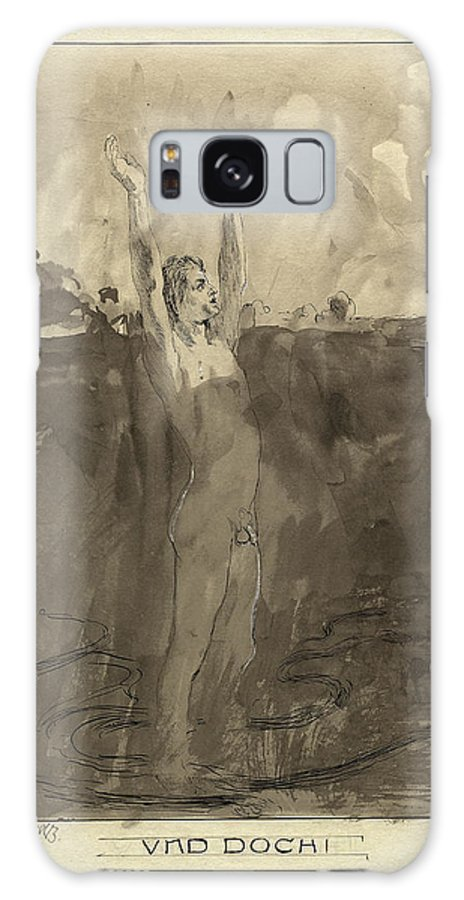 Max Galaxy S8 Case featuring the drawing Max Klinger German, 1857 - 1920, Und Doch by Quint Lox