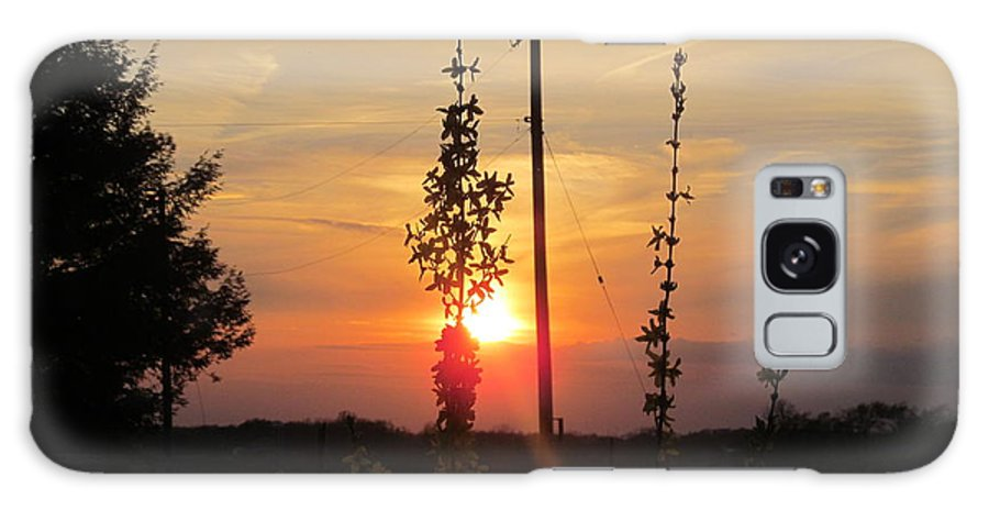 Sun Galaxy S8 Case featuring the photograph May 3 2013 Sunset by Tina M Wenger