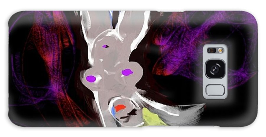 Purple Galaxy S8 Case featuring the digital art Maya by Silver Falcon Studio