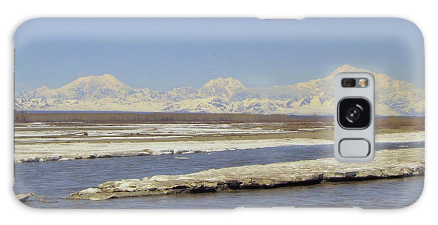 Alaska Galaxy S8 Case featuring the photograph Mckinley And Friends by Larry Marano