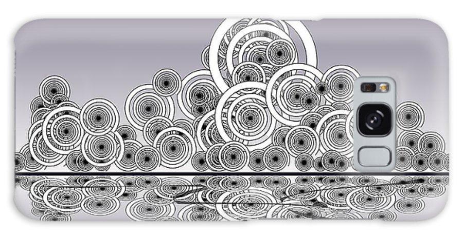 Reflection Galaxy S8 Case featuring the digital art Mechanical Spirits by Anastasiya Malakhova