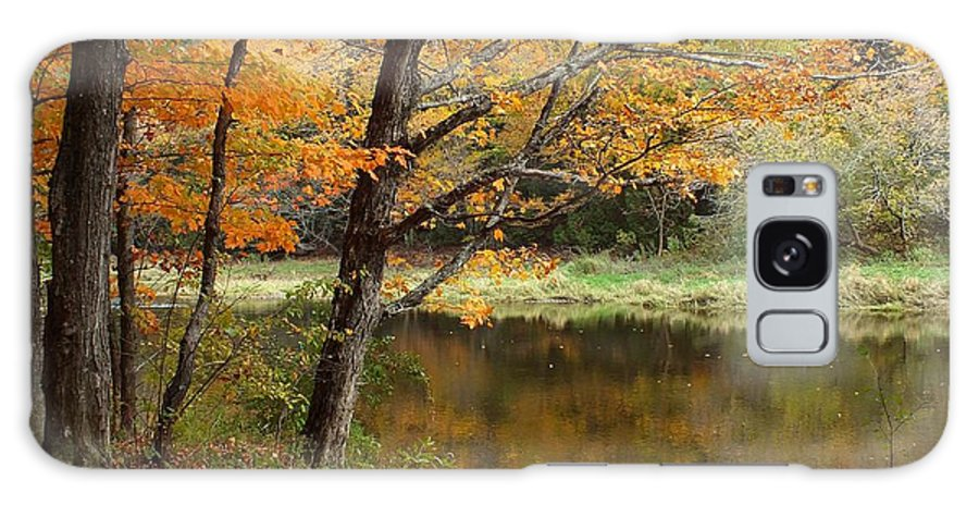 New England Galaxy S8 Case featuring the photograph Meduxnekeag River 1 by Gene Cyr