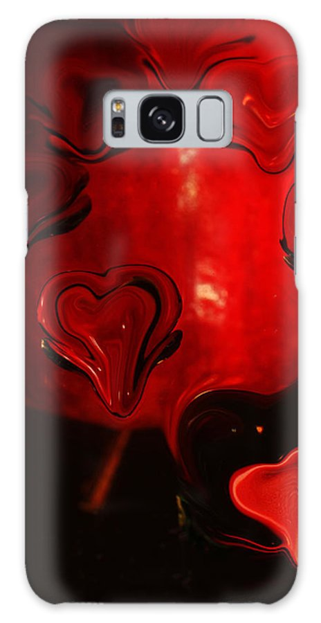 Hearts Galaxy S8 Case featuring the photograph Melting Hearts by Anne Costello
