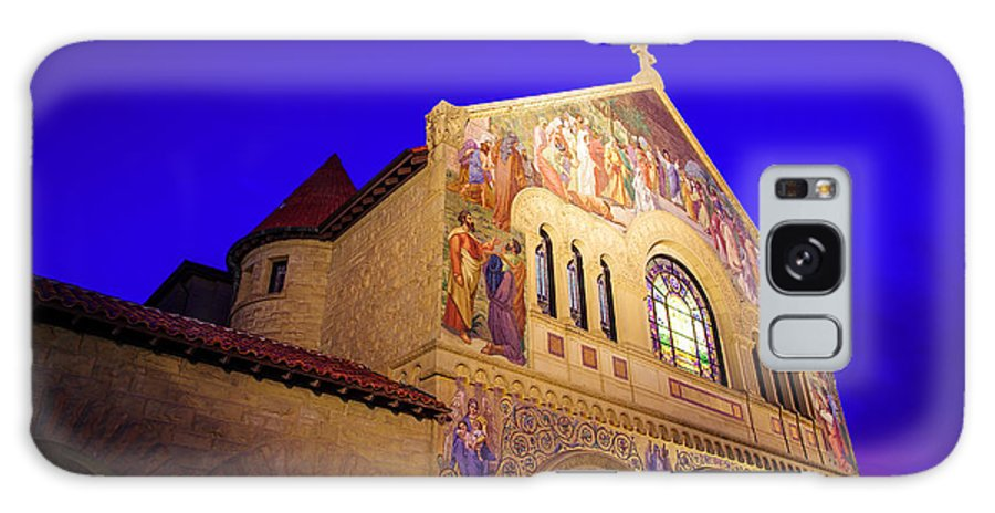 California Galaxy S8 Case featuring the photograph Memorial Church Stanford University by Scott McGuire