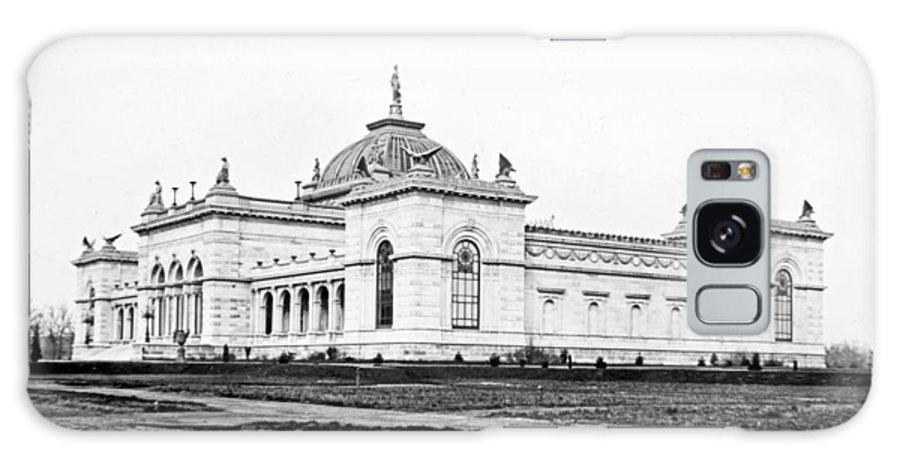 Memorial Hall Galaxy S8 Case featuring the photograph Memorial Hall Centennial International Exposition 1877 by A Gurmankin