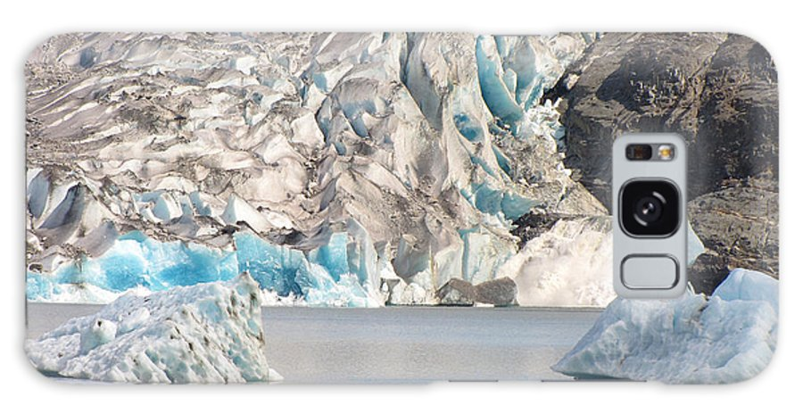 Phil Welsher Galaxy S8 Case featuring the photograph Mendenhall Glacier Detail Juneau Alaska by Phil Welsher