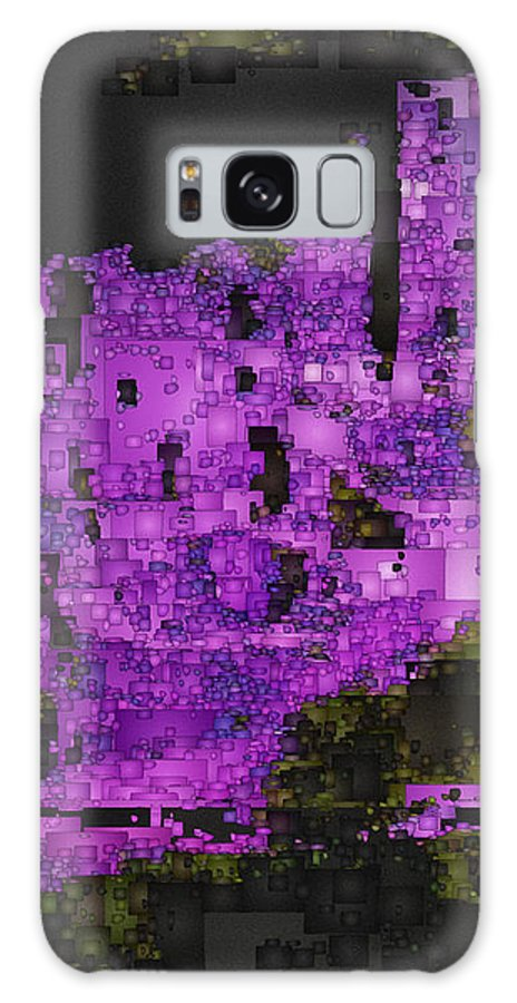 Digital Galaxy S8 Case featuring the digital art Mesa Verde Study 1 by David Hansen
