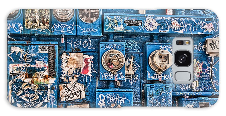 Meters Galaxy S8 Case featuring the photograph Meter Graffiti New Orleans Style by Kathleen K Parker