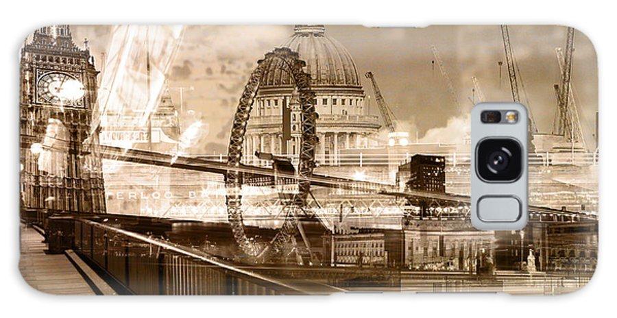 Metropolis City Galaxy S8 Case featuring the digital art Metropolis by Deepak Chautala