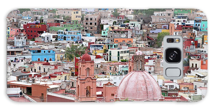 Architecture Galaxy S8 Case featuring the photograph Mexico, Guanajuato, View Of Guanajuato by Hollice Looney