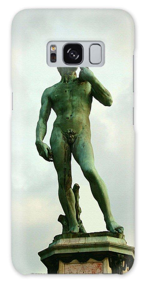 Michelangelos David Galaxy S8 Case featuring the photograph Michelangelo's David 2 by Ellen Henneke