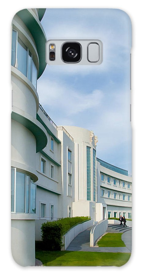 Midland Hotel Galaxy S8 Case featuring the photograph Midland Hotel In Morecambe by Tess Baxter