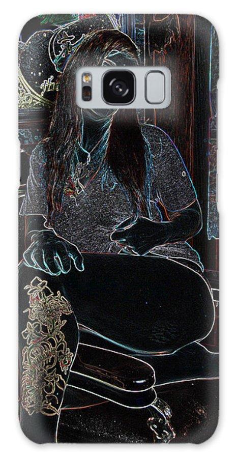 Midnight Galaxy S8 Case featuring the photograph Midnight Barber by Ski Davidowski