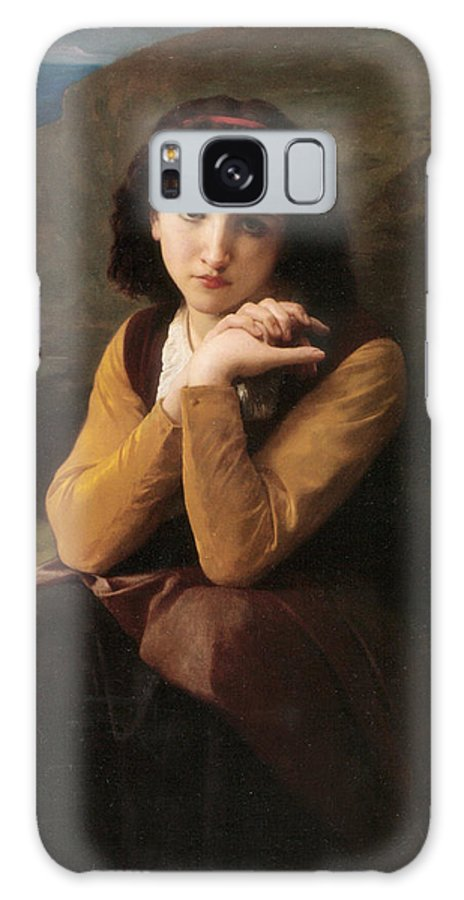 Mignon Galaxy S8 Case featuring the digital art Mignon by William Bouguereau
