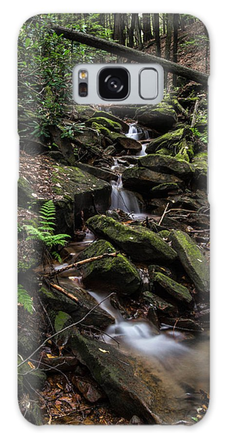 Waterfall Galaxy S8 Case featuring the photograph Millcreek Road Waterfall by Anthony Thomas