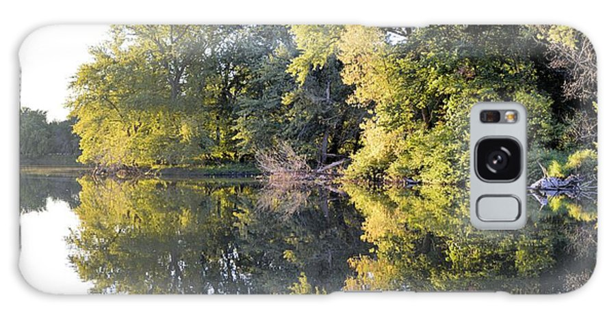 Lake Galaxy S8 Case featuring the photograph Mirror Mirror by Bonfire Photography