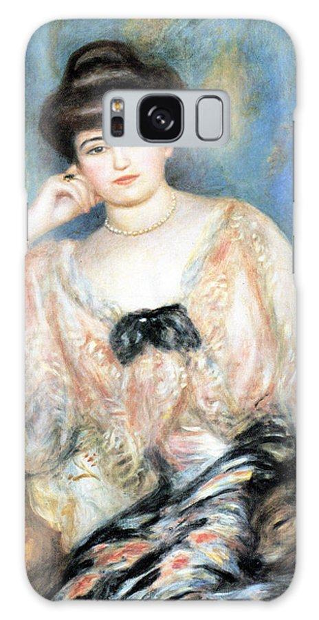 Pierre Auguste Renoir Galaxy S8 Case featuring the digital art Misia Natanson by Pierre Auguste Renoir