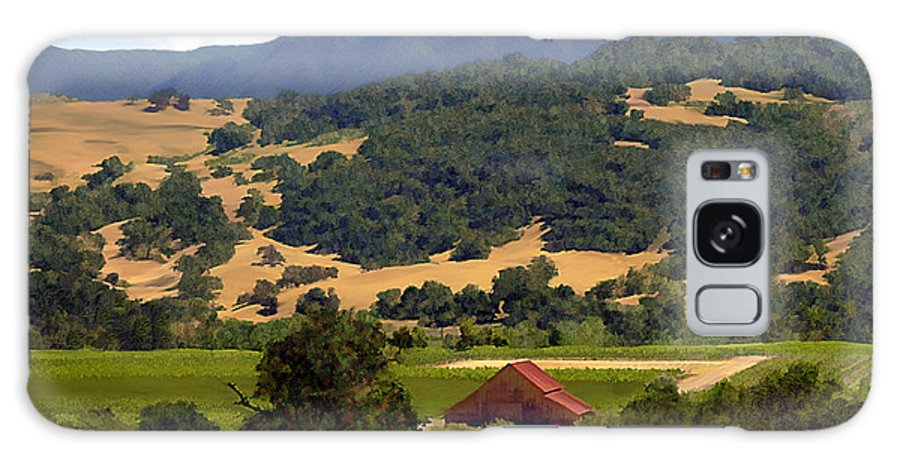 Solvang Galaxy S8 Case featuring the photograph Mission Meadows Solvang California by Kurt Van Wagner