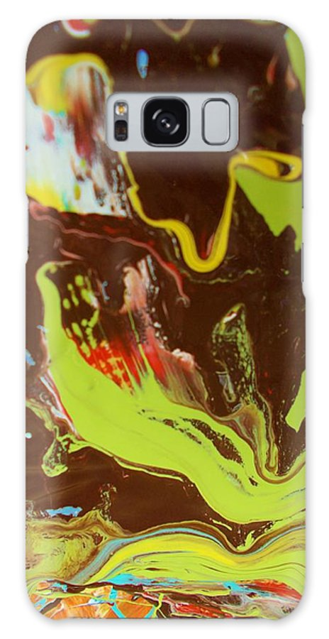 Original Galaxy S8 Case featuring the painting Mission Statement by Artist Ai