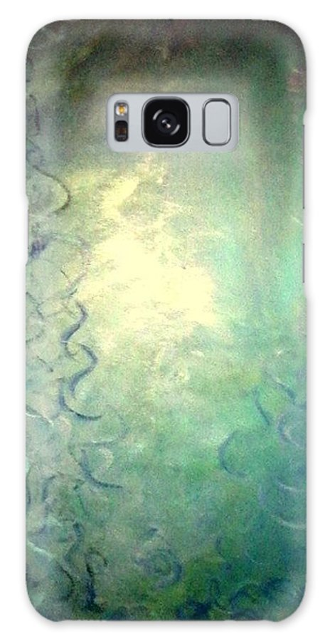 Cloud Galaxy S8 Case featuring the painting Mist by Richard Hubal