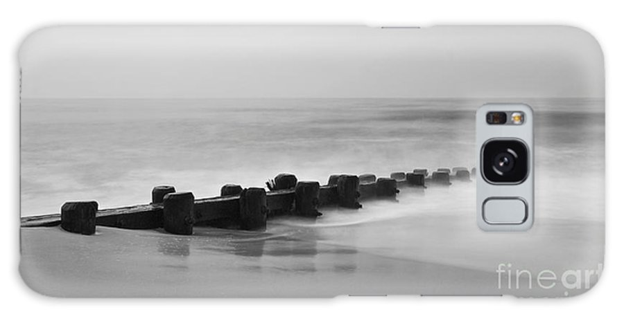 Lbi Galaxy S8 Case featuring the photograph Misty Beach Morning by Mark Miller