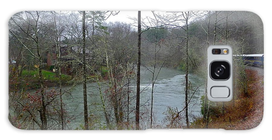 Ocoee River Galaxy S8 Case featuring the photograph Misty Georgia Beauty by Denise Mazzocco