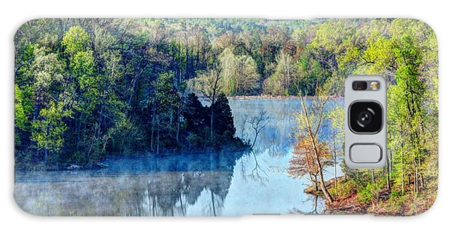 Water Galaxy S8 Case featuring the photograph Misty Morning by Bena Travis