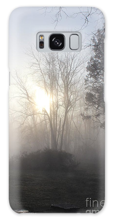 Bucks County Pennsylvania Galaxy S8 Case featuring the photograph Misty Morning by Sharon Wilkens