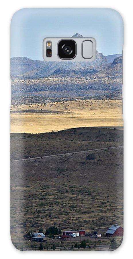 High Desert Galaxy S8 Case featuring the photograph Miter Peak by Allen Sheffield