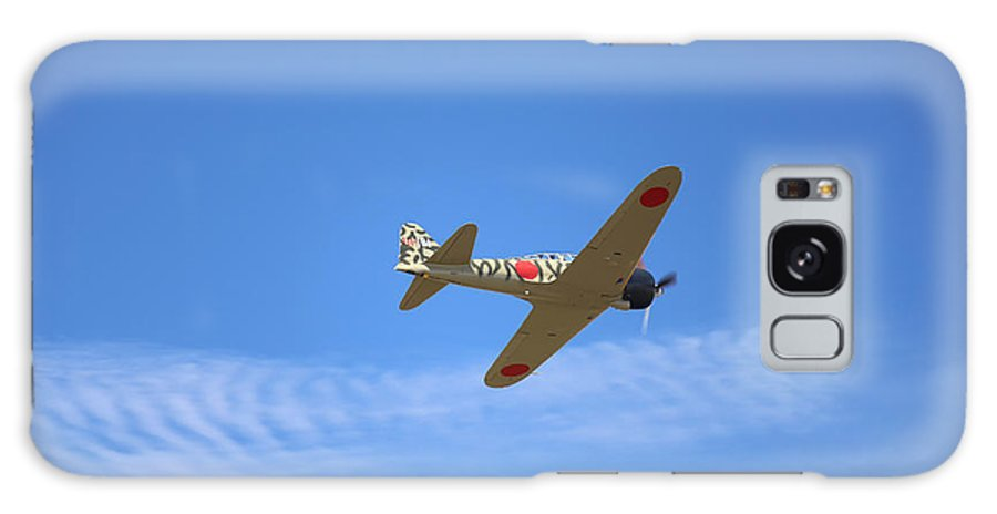 War Galaxy S8 Case featuring the photograph Mitsubishi A6m3-22 Reisen Zero by Paul Fell
