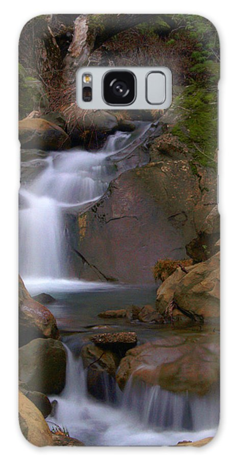 Mix Canyon Galaxy S8 Case featuring the photograph Mix Canyon Creek by Bill Gallagher
