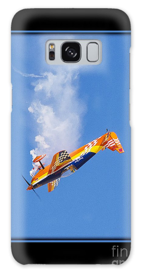 Plane Galaxy S8 Case featuring the photograph Model Plane 10 by Larry White