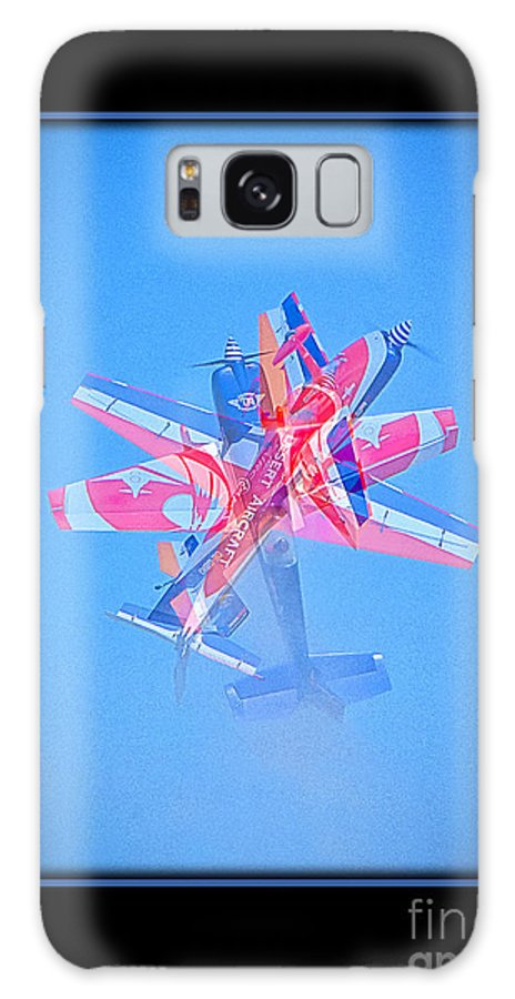 Plane Galaxy S8 Case featuring the photograph Model Plane 12 by Larry White