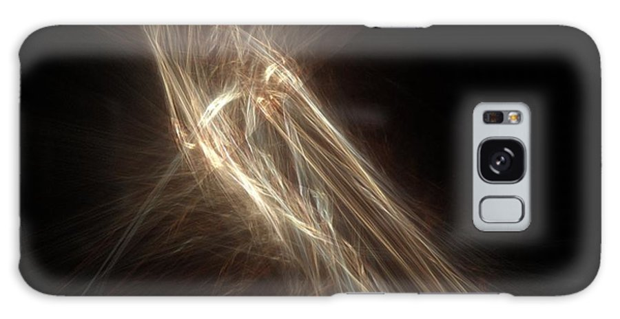 Abstract Art Galaxy S8 Case featuring the painting Moment Of Bliss No.1 by Malcolm Regnard