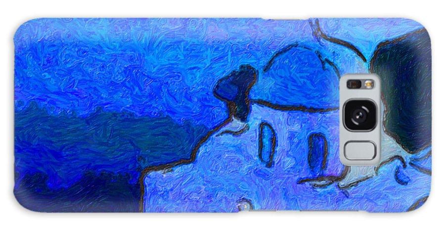 Galaxy S8 Case featuring the digital art Monestary by Philip Dammen