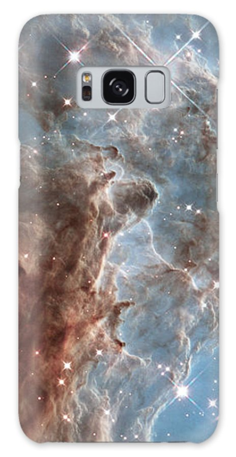Monkeyheadnebula Galaxy S8 Case featuring the photograph Monkey Head Nebula by Martin FF
