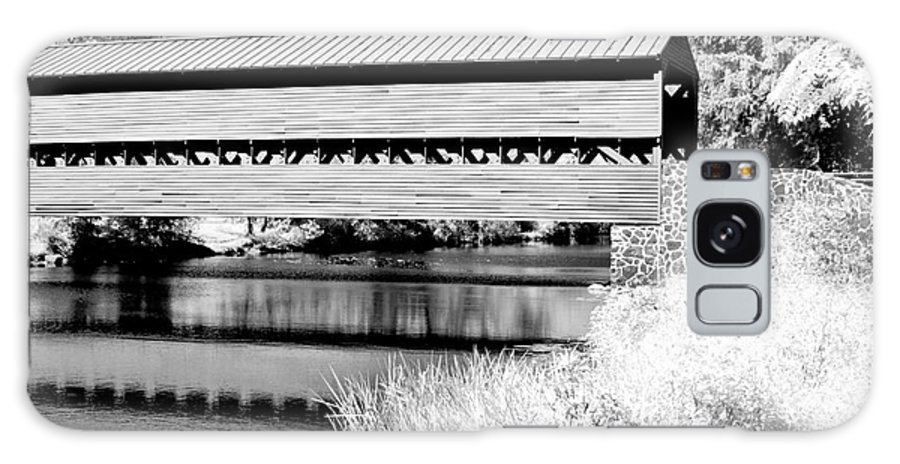 Ir Galaxy S8 Case featuring the photograph Mono Bridge by Paul W Faust - Impressions of Light
