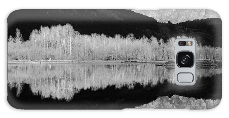 Landscape Galaxy S8 Case featuring the photograph Mono One Mile Lake by Pierre Leclerc Photography