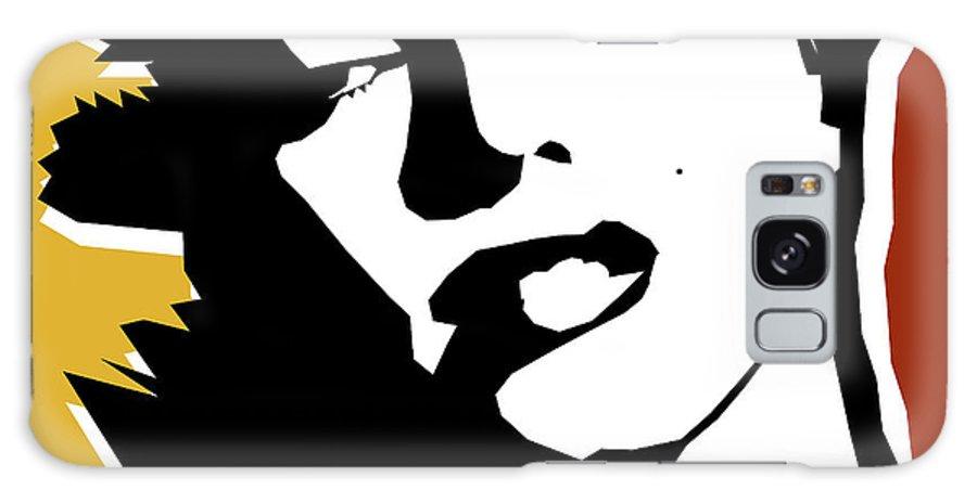 Pop Art Galaxy Case featuring the digital art Monroe by Mark Ashkenazi
